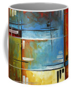 Quiet Whispers By Madart Coffee Mug by Megan Duncanson