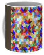 Quilt Pattern No. 1 Coffee Mug