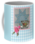 Quilted Star Card Coffee Mug