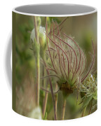 Quirky Red Squiggly Flower 2 Coffee Mug
