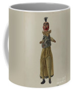 """punch"" Clown Puppet Coffee Mug"