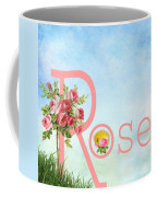 R For Rose Coffee Mug
