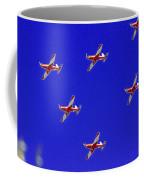 Raaf Roullettes Flying Across North Head Sydney Coffee Mug