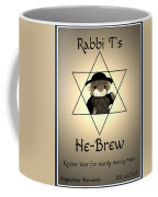 Rabbi T's He-brew Coffee Mug