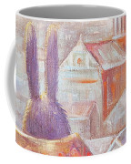 Rabbits In Rome Coffee Mug