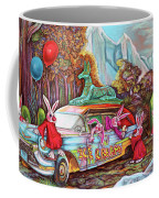 Rabbits Selling Ice Cream From A Hearse Coffee Mug