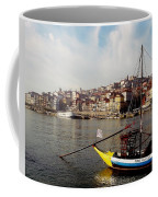 Rabelo Boats On River Douro In Porto 03 Coffee Mug