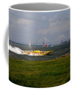 Race Boat In Charleston Coffee Mug