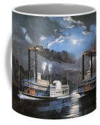 Race On Mississippi, 1860 Coffee Mug