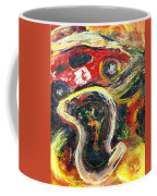 Racetrack Melting Coffee Mug