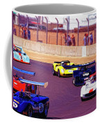 Racing At Laguna Seca Coffee Mug