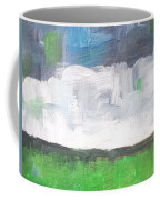 Racing Clouds Coffee Mug