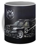 Racing Dodge Pickup Coffee Mug