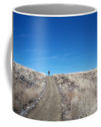 Racing Over The Horizon Coffee Mug