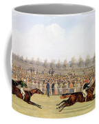 Racing Scene Coffee Mug