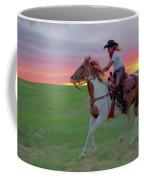 Racing The Sunset Coffee Mug