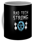 Rad Tech Strong Radiology Workout Coffee Mug