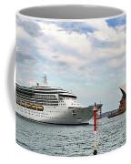 Radiance Of The Seas Passing Opera House Coffee Mug