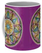 Radiant Health Mandala Coffee Mug