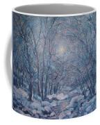 Radiant Snow Scene Coffee Mug