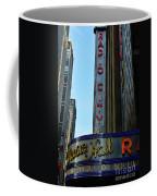 Radio City Music Hall Coffee Mug by Paul Ward