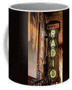 Radio Nashville Sign Coffee Mug