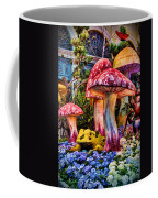 Radioactive Mushrooms Coffee Mug