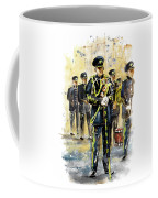 Raf Military Parade In York Coffee Mug
