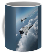 Raf Tsr.2 Advanced Bomber With Lightning Interceptor Coffee Mug