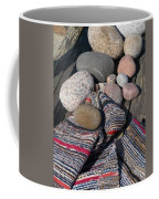 Rag Rugs With Stones And The Dock 3 Coffee Mug