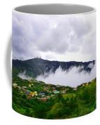 Raging Clouds On The Village Coffee Mug