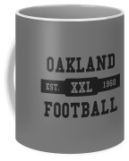 Raiders Retro Shirt Coffee Mug