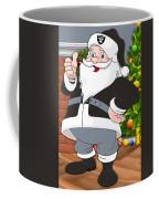 Raiders Santa Claus Coffee Mug