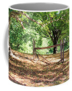 Split Rail Section Coffee Mug