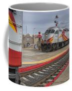 Rail Runner Train Albuquerque Nm Sc02985 Coffee Mug