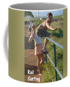 Rail Surfing Coffee Mug