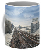 Railroad Going North  Coffee Mug