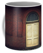 Railroad Museum Door Coffee Mug