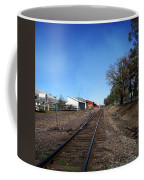 Railroad Tracks Switch Station Coffee Mug