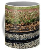 Rails And Roses Coffee Mug