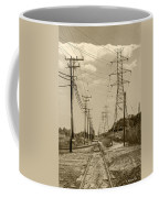 Rails And Wires Coffee Mug