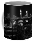 Rails Roads And Rust In Monochrome Coffee Mug