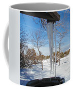 Rain Barrel Icicle Coffee Mug