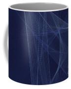 Rain Computer Graphic Line Pattern Coffee Mug