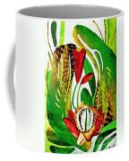 Rain Flowers Coffee Mug by Sarah Loft