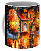 Rain Impression Coffee Mug