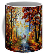 Rain In The Woods Coffee Mug