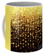 Rain Of Lights Christmas Or Party Background Coffee Mug