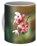 Rain On Flowers Coffee Mug