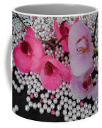 Rain On Orchids Coffee Mug